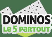 Jeu de domino 5 partout
